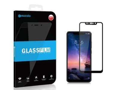 Стъклен Протектор MOCOLO 3D Full за Xiaomi Redmi Note 6 Pro , Черен