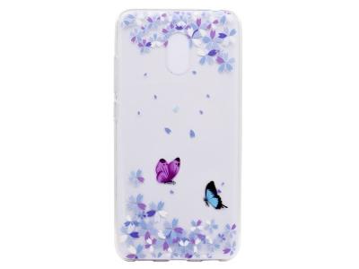 Силиконов гръб за Meizu M6 , Пеперуди