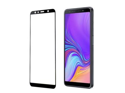 Стъклен Протектор 4D за Samsung Galaxy A7 (2018) A750, Черен
