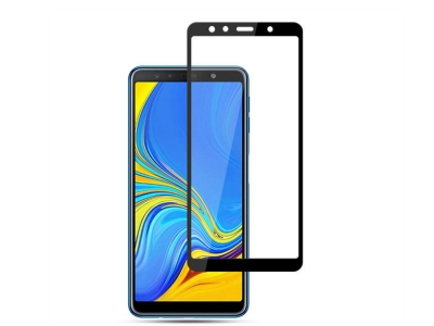 Стъклен Протектор 4D - Samsung Galaxy A7 (2018) A750 - Black