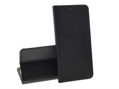 Калъф Тефтер Smart Book за Huawei Mate 20 Lite, Черен