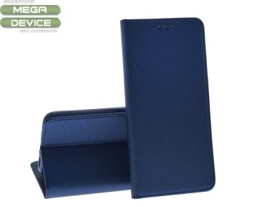 Калъф тефтер Smart Book за Nokia 5.1 Plus / X5 (2018), Тъмно син