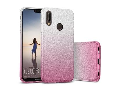 Силиконов Гръб BLING - Huawei P20 Lite - Pink