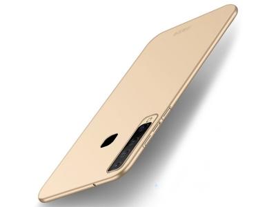 Пластмасов Гръб MOFI за Samsung Galaxy A9 2018 / A9 Star Pro / A9s, Златист