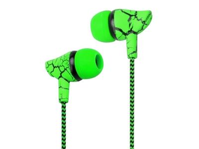 Слушалки Wired Sport 3.5mm, Зелен