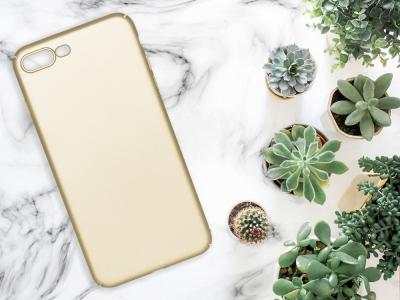 Калъф Гръб PVC MATT - iPhone 7 Plus / iPhone 8 Plus - Gold