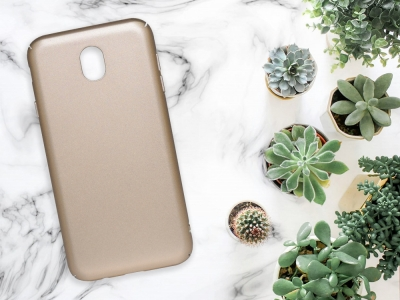 Калъф Гръб PVC MATT - Samsung Galaxy J5 2017 (J530) - Gold