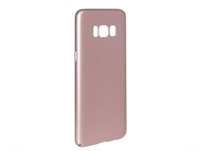 Пластмасов гръб за Samsung Galaxy S8 (G950), Розов/ Златист
