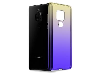 Силиконов гръб OMBRE BLUERAY за Huawei Mate 20 , Черен