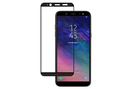 Стъклен Протектор 5D Full Glue - Samsung Galaxy A6 (2018) A600 - Black