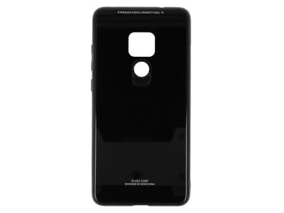 Калъф Гръб Glass за Huawei Mate 20, Черен