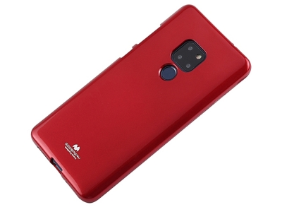 Силиконов гръб Jelly Mercury за Huawei Mate 20, Червен
