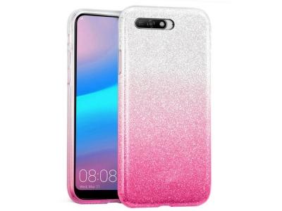 Силиконов Гръб BLING - Huawei Y6 (2018) - Pink