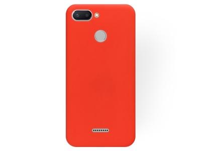 Силиконов Гръб SOFT за Xiaomi Redmi 6, Червен