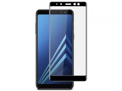 Стъклен протектор 3D camera view - Samsung Galaxy A8 Plus (2018) A730F - Black
