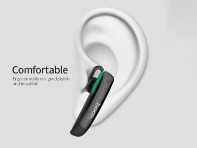 Bluetooth слушалка HF HOCO E1 Black