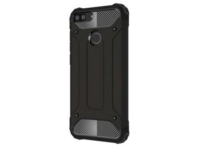 Удароустойчив гръб Armor за Huawei Honor 9 Lite, Черен
