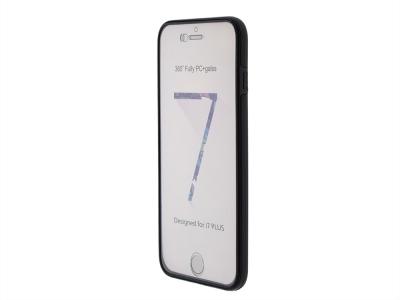 360 Градуса Калъф за iPhone 7 Plus / 8 Plus , Черен