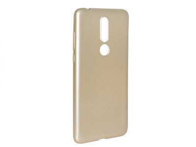 Силиконов Гръб Level за Nokia 3.1 Plus, Златист