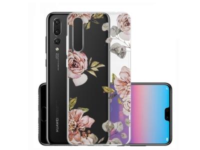 Силиконов Гръб за Huawei P20 Pro / P20 Plus , Рози