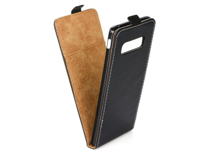 Калъф тефтер Slim Flexy за Samsung Galaxy S10e, Черен