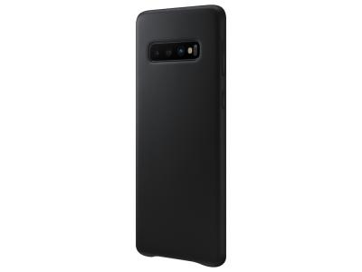 Пластмасов гръб LUX за Samsung Galaxy S10 Plus , Черен