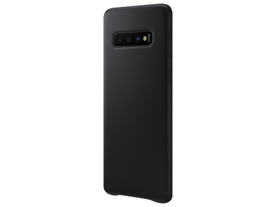 Пластмасов гръб LUX за Samsung Galaxy S10, Черен