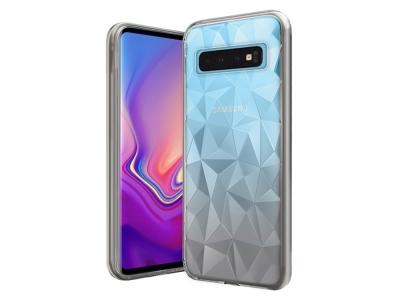 Силиконов гръб PRISM за Samsung Galaxy S10 Plus, Прозрачен