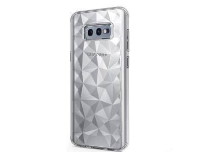 Силиконов гръб PRISM за Samsung Galaxy S10e, Прозрачен