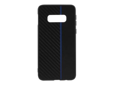 Удароустойчив гръб Moto Carbon за Samsung Galaxy S10e (G970) , Черен / Син