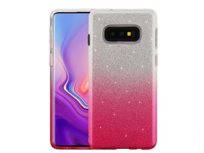 Силиконов Гръб BLING за Samsung Galaxy S10e (G970), Розов