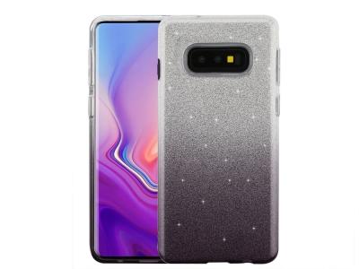 Силиконов Гръб BLING за Samsung Galaxy S10e (G970), Черен