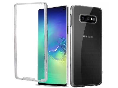 360 Градуса Силиконов Калъф за Samsung Galaxy S10e / S10 Lite, Прозрачен