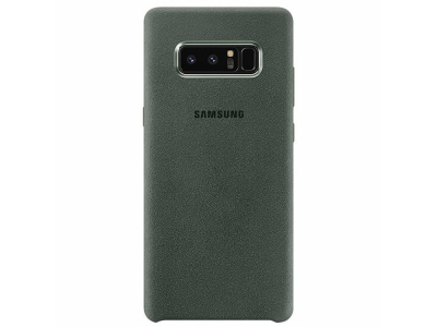 Оригинален Гръб EF-XN950AKE Samsung Alcantera Back Cover Khaki for N950 Galaxy Note 8 (EU Blister)
