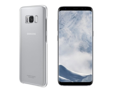 Оригинален Пластмасов Гръб SamsungEF-QG955CSE за Samsung Galaxy S8 Plus, Прозрачен