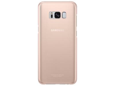 Оригинален Пластмасов Гръб Samsung EF-QG955CFE за Samsung Galaxy S8 Plus, Розов