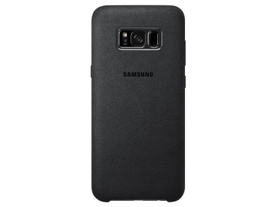 Оригинален гръб Samsung Alcantara за Samsung Galaxy S8 Plus G955, Черен