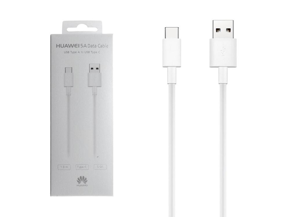 Оригинален кабел Huawei AP71 Type-C Data , Бял