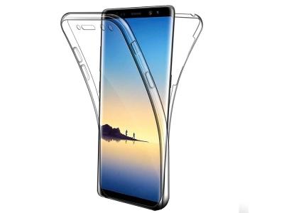 360 Градуса Силиконов Калъф за Samsung Galaxy Note 9 (N960), Прозрачен