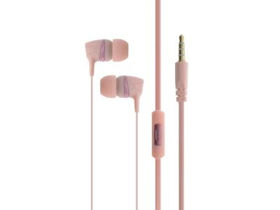 Слушалки с Микрофон CASNI CS137, Розов