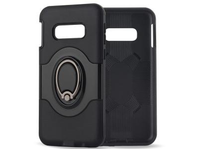 Удароустойчив Гръб Hybrid Ring за Samsung Galaxy S10e, Черен