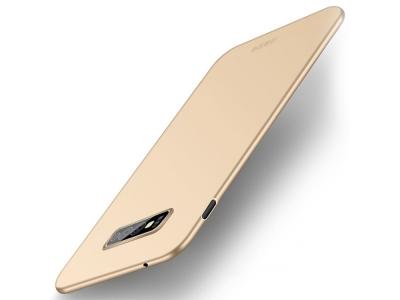 Пластмасов Гръб MOFI за Samsung Galaxy S10e, Златист