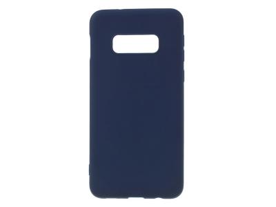 Силиконов Гръб Matte за Samsung Galaxy S10e, Син