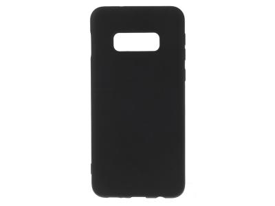 Силиконов Гръб Matte за Samsung Galaxy S10e , Черен