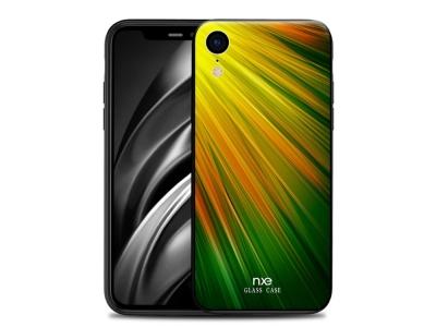 Силиконов Гръб NXE за iPhone XR (6.1), Жълт / Зелен