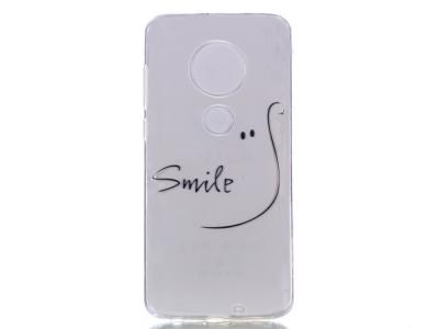 Силиконов Гръб за Motorola Moto G7/G7 Plus, Усмивка