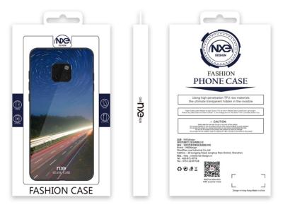Стъклен гръб Glass NXE за Huawei Mate 20 Pro , Нощен изглед