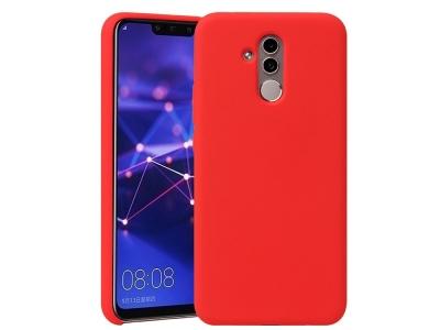 Силиконов Гръб HOWMAK за Huawei Mate 20 Lite / Maimang 7, Червен