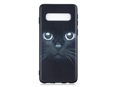 Силиконов Гръб за Samsung Galaxy S10, Котка