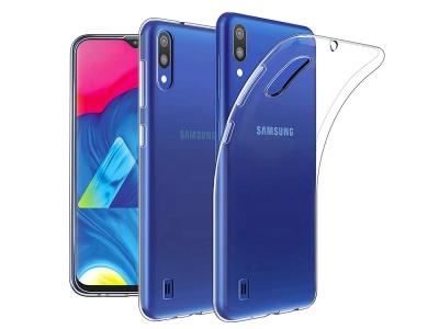 Силиконов гръб за Samsung Galaxy M10, Прозрачен